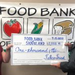 Telco Triad Donates $1000 to Food Bank of Siouxland