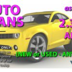 AUTO LOAN Rates as low as 2.39%* (ANY YEAR!)