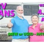 RV LOANS as low as 4.25% APR* (ANY YEAR!)