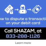 Debit Card Fraud? Call 833-288-1126!